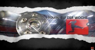 Bundesliga: Die 90min-Topelf des 2. Spieltags