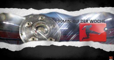 Die Bundesliga-Topelf des 18. Spieltags