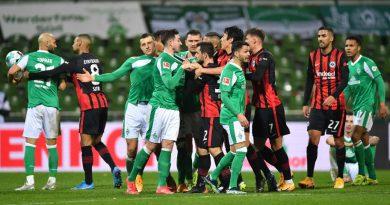 """Werder und Frankfurt auf Krawall gebürstet: """"Hat nichts mit einem Niveau zu tun"""""""